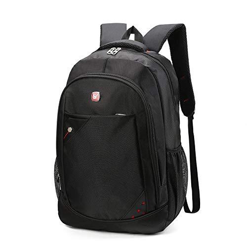 Mochila Backpack Impermeable Mochila Grande De Moda para Hombre, Mochila De Negocios, Mochila para Ordenador Portátil Antirrobo para Hombre, Mochila Informal De Color Sólido, Entrega Rápida Gratuita