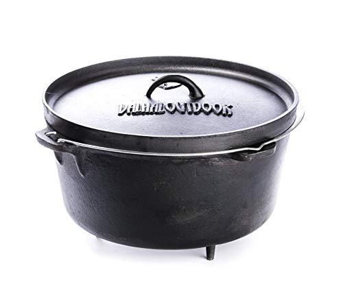 Valhal Outdoor Dutch oven (13 Liter)