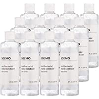 12-Pack Amazon Brand Solimo 70% Ethyl Alcohol Hand Sanitizer