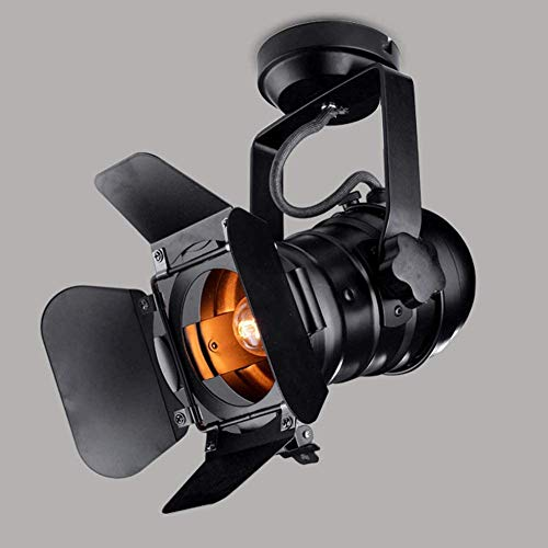 Grande L31 * W17 * H35cm Focos LED de Techo Vintage Loft...