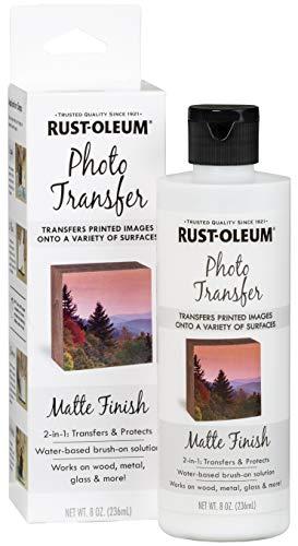 Rust-Oleum 350457 Photo Transfer Medium, 8oz, Matte
