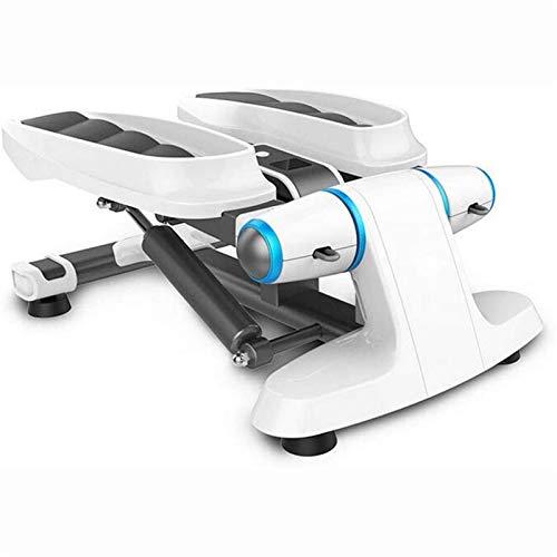 ZLQBHJ Máquinas de Step, Cardio Training Step Fitness Home Eliptical Step Machine con Bandas de Resistencia y Monitor LCD