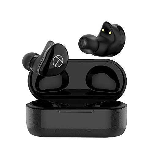 TRN T200 Wireless Earbuds, TWS 1DD+1BA Hybrid Driver IPX5 Waterproof True Wireless APTX QCC3020 Bluetooth 5.0 Earphone Stereo HiFi Sound in-Ear Headset Sport Headphone with CVC 8.0 for Cell Phone