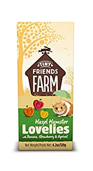 SupremePetfoods Tiny Friends Farm Hazel Hamster Lovelies with Banana Strawberry & Apricot 4.2 oz - Pack of 12