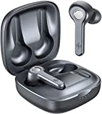 Wireless Earbuds, Upgraded Boltune Bluetooth V5.2 in-Ear Stereo Wireless Headphones USB-C Quick Charge Bluetooth Earbuds IPX8 40Hours Play Time-Grey