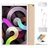 Tablet 10 inch, High Performance 2 in 1 Android 9.0 Tablets with Keyboard Case & Mouse, 3GB RAM 64GB Storage, Quad Core,...