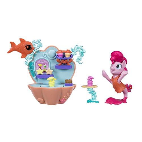 My Little Pony - Pony Sirena Pinkie Pie Pony Sirena con Mini Playset , C1830ES0