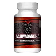 Organic Ashwagandha with Organic Black Pepper | High Level | 60 Vegetarian Capsules for Capsules for Relieving Stress, Anxiety, Insomnia | Non-GMO | Natural Anti Inflammatory | Made in USA