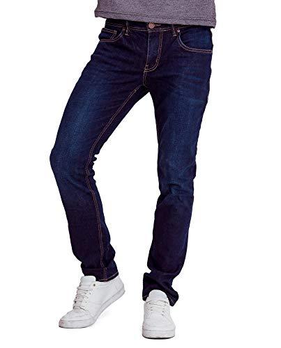 AMERICANINO Men's Skinny Slim Fit Jean Blue