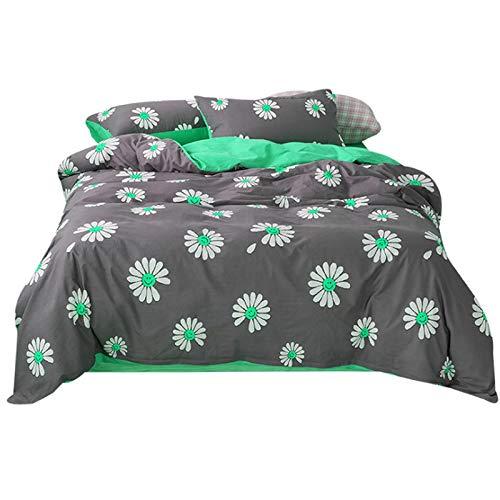 N/Q Duvet Cover Single 3-Piece Set Black Plain 11 Colors Princess Design Fashionable Cute Pillow Cover Bedding Cover Wester