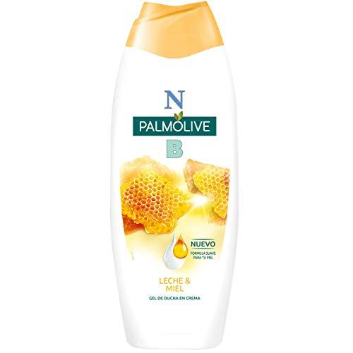 NB gel de baño leche y miel botella 600 ml