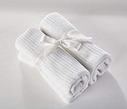 Suitable from birth 2 Pack Soft and gentle Perfect for cots and cribs 70cm x 100cm