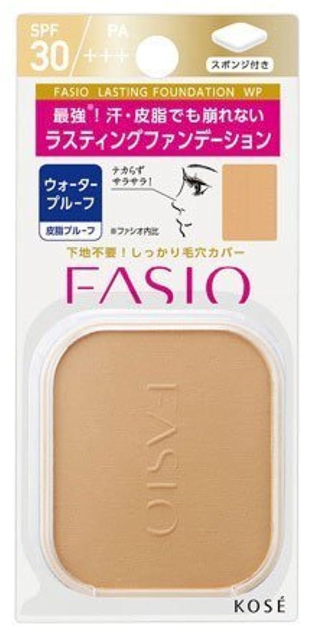 作り広範囲と組むコーセー ファシオ ラスティングファンデーションWP(レフィル)<ケース別売>《10g》<カラー:415>×3