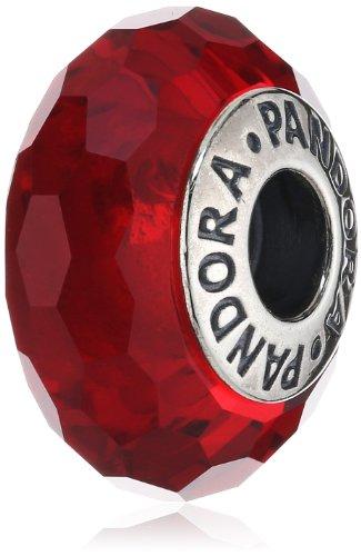 Pandora 791066 - Abalorio de plata de ley con cristal