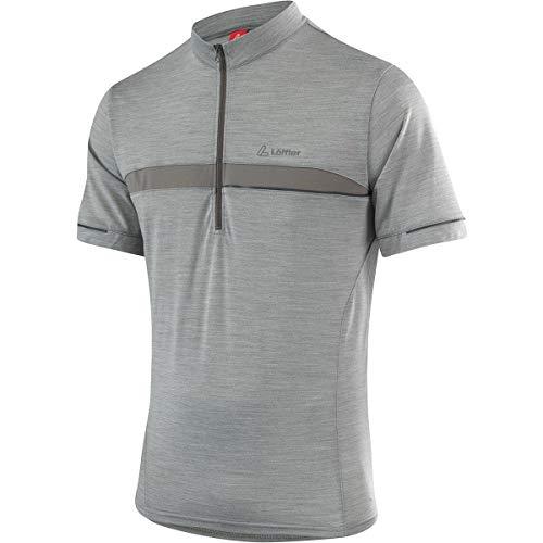 LÖFFLER Merino Bike Shirt - Olive/Melange
