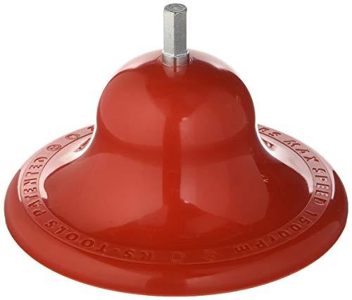 KS Tools 100.4071 Radnabenschleifer ohne Reinigungsscheibe, Ø 160 mm, Rot