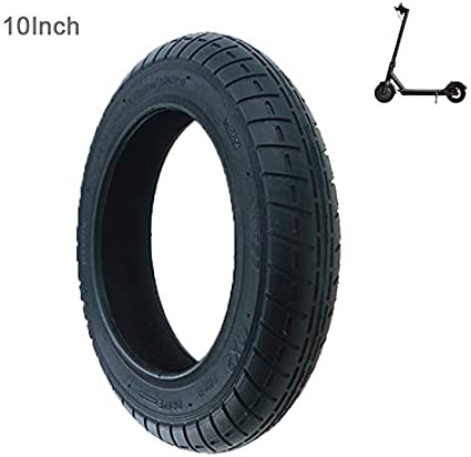 Flycoo2 10 Inch Tyres 10 Inch 10 2 For Xiaomi M365 Electric Scooter Modification Compatible With Air Chambers 8 1 2 X 2 Non Slip Pack Of 1 Sport Freizeit