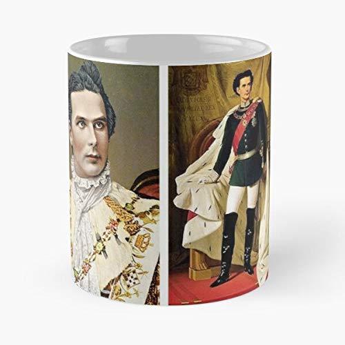 Bayern Neuschwanstein II King Ludwig Koenig Bavaria Kini Germany Best Mug Tiene 11oz de Mano Hechas de cerámica de mármol Blanco