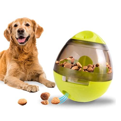 Edipets, Juguetes Interactivo para Perros, Gatos, Bola Dispensador, Alimentador de Comida, para Mascotas Pequeñas y Medianas