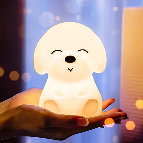 Night Light for Kids,Kids Night Light for Girls Baby and Toddler,Cute Puppy Night Light,Dog Animal...