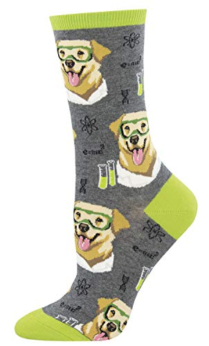 Socksmith Science Lab Charcoal Heather One Size