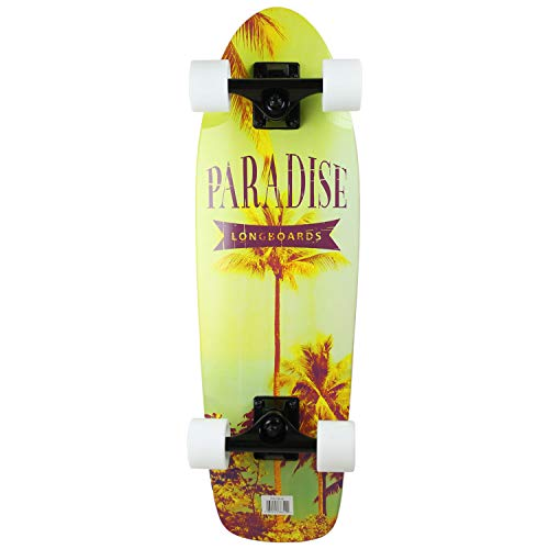Paradise Bamboo Cruiser Skateboard Instapalm 8quot x 2675quot Canadian Maple