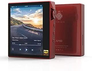 HIDIZS ハイレゾ・デジタルオーディオプレーヤー(レッド)HIDIZS AP80RD