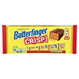 *** 1 PACK SALE PER ORDER *** DE-LIGHT-FULLY CRISP 6 SNACK SIZE BARS PER PACK (1 PACK SALE PER ORDER) NO ARTIFICIAL FLAVORS OR COLORS BAKED WAFERS AND BUTTERFINGER CREME