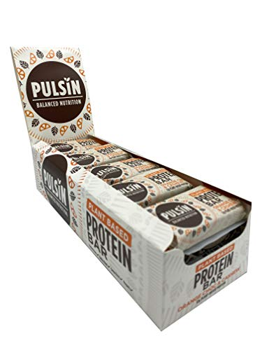 Pulsin Orange Choc Chip Protein Snack 50 g X 18 Bars