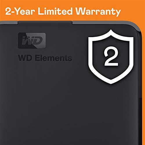 WD Elements Portable , externe Festplatte – 5 TB – USB 3.0 – WDBU6Y0050BBK-WESN - 8