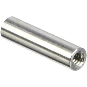 3.5 Length, Clear Iridite 0.25 OD #4-40 Screw Size Aluminum Pack of 5 Female Hex Standoff