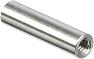 Stainless Steel Pack of 5 Female 2 Length, #4-40 Screw Size 0.187 OD Hex Standoff