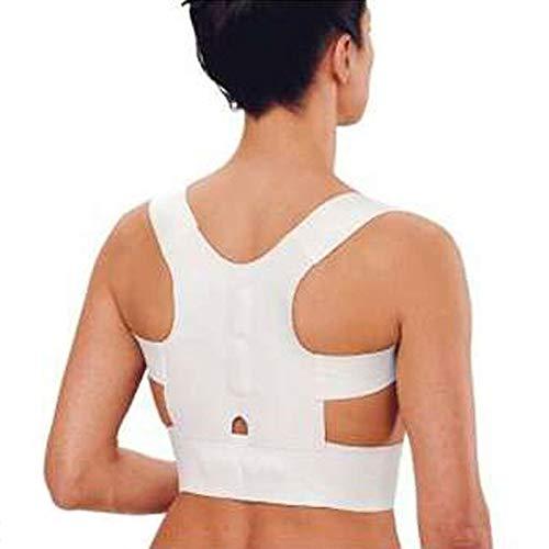 JIUYUE Corset Las Mujeres de los Hombres Magnética Volver Postura Corrector de Hombro Apoyo Brace Espalda Apoyo Ortopédico Corsé Volver Corrector (Size : M)
