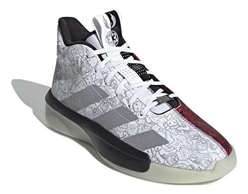 adidas Herren Pro Next 2019 - Star Wars Basketballschuhe Weiß, 43 1/3