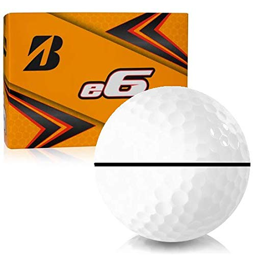 Bridgestone e6 AlignXL Personalized Golf Balls