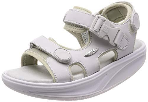 MBT Damen Kisumu Classic W Sneaker, White Nubuck, 39 EU