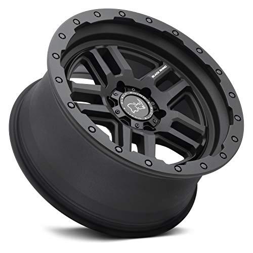 BLACK RHINO Barstow Rim 20X9.5 6X135 Offset 12 Textured Matte Black (Qty of 1)