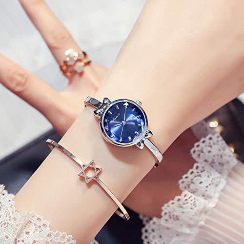 FPRW Armband-Art vrouwelijke horloge, Ins-Art-mode-kettinghorloge, waterdicht temperament-metalen armbandhorloge