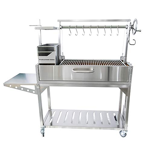 TAGWOOD BBQ Argentine Grill Santa Maria Grill Style With Brasero Stainless Steel | BBQ03SS