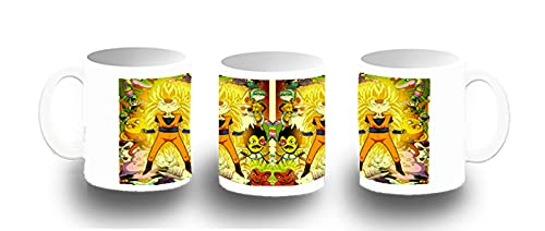 MERCHANDMANIA Taza FOTOLUMINISCENTE Hora DE Dragon Ball Aventuras Glow mug