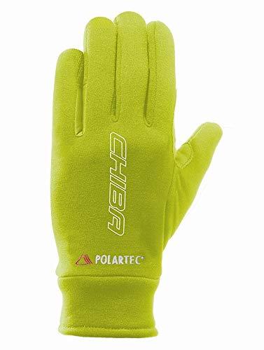 Chiba Polartec Reflex Winter Fahrrad Handschuhe gelb 2020: Größe: XXL (11)