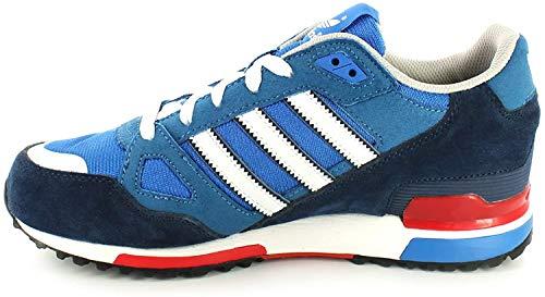 adidas, Scarpe da corsa uomo, Multicolore (Bluebird/Weiß), 43 EU