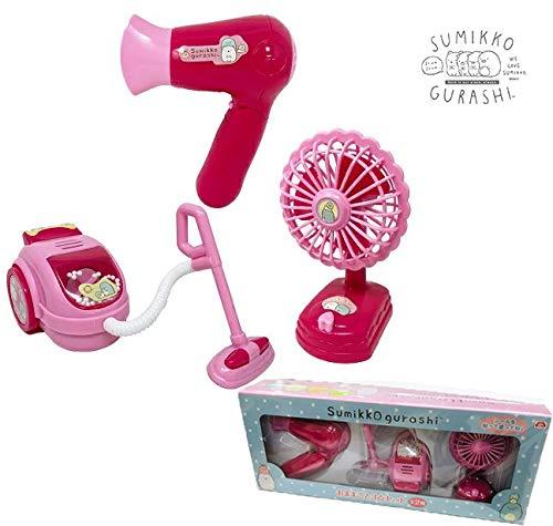 すみっコぐらし 動くおままごと セット おもちゃ 扇風機 掃除機 グッズ すみっこぐらし ごっこ とかげ しろくま 玩具