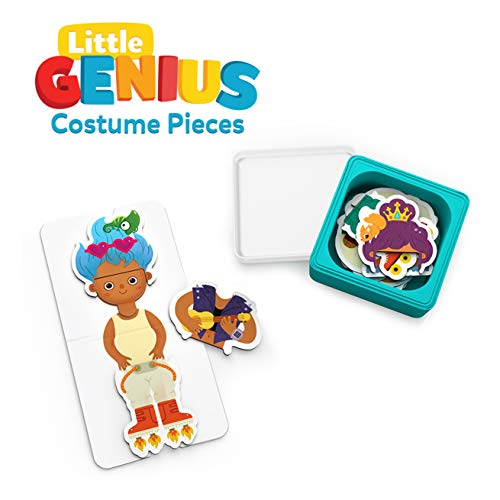 Osmo - Little Genius Costume Pieces - 2 Games - Stories & Costume Party - Ages 3-5 - Fine Motor Skills & Creativity - For iPad or Fire Tablet (Osmo Base Required - Amazon Exclusive)