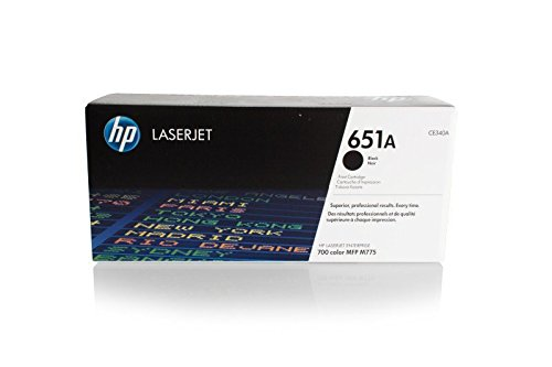 Original HP CE340A 651A fur Laserjet Enterprise 700 Color M 775 f MFP Premium Drucker Kartusche Schwarz 13500 Seiten