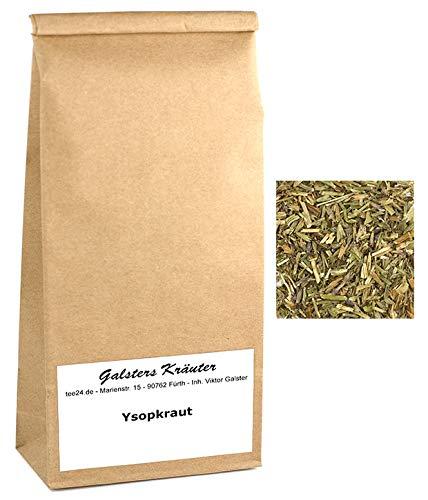 100g Ysopkraut Ysop-Tee Hyssopus officinalis Hyssopium Hyssopi | Galsters Kräuter