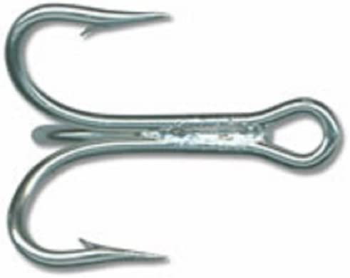 Mustad 3 Extra Strong Treble Hooks Size 1 Qty.25                     Item Q 125
