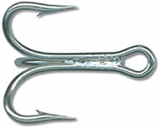 Mustad Classic 3 Extra Strong Treble Hook with Short Shank (Pack of 25), DuraSteel, 6