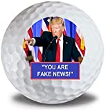 Donald Trump Fake News 2020 3pk Golf Balls