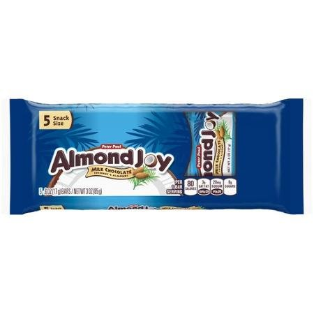 Almond Joy Mini Snack Bars 5ct 3 Oz